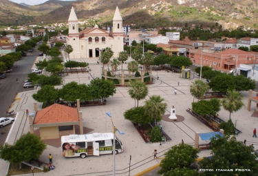 Praça no centro de Itapipoca